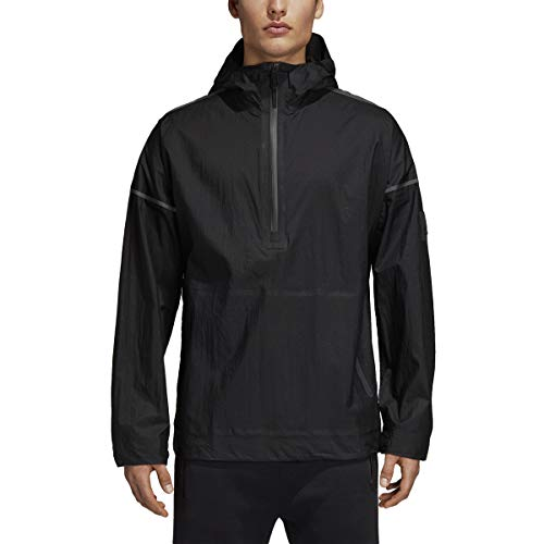 adidas Icon Anorak Jacket (Medium) Black