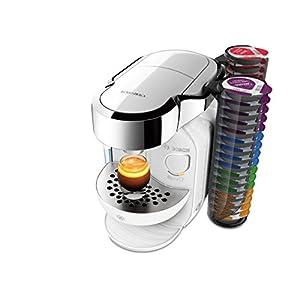 Tassimo Bosch TASSIMO Caddy TAS7002GB Coffee Machine, 1300 Watt, 1.2 Litres - Majestic White