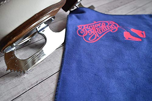 Kufenhandtuch für Schlittschuhe, Blade Towel, Trocknungstuch