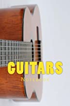 Guitars: 150 page lined notebook