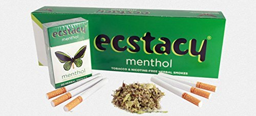 Herbal Ecstacy Cigarettes Menthol Carton of 10 pks