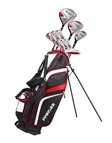 15 Piece Ladies Womens Complete Golf Clubs Set Titanium Driver, S.S. Fairway, S.S. Hybrid, S.S. 6-PW...