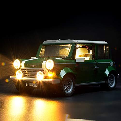 BRIKSMAX Led Beleuchtungsset für Mini Cooper, Kompatibel Mit Lego 10242 Bausteinen Modell - Ohne Lego Set