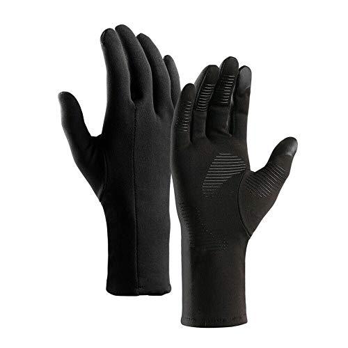 Dgtyui Guantes Calientes Impermeables de Invierno con Dedos completos Guantes Antideslizantes para Motocicletas Guantes de Senderismo para esquí al Aire Libre - Negro XM