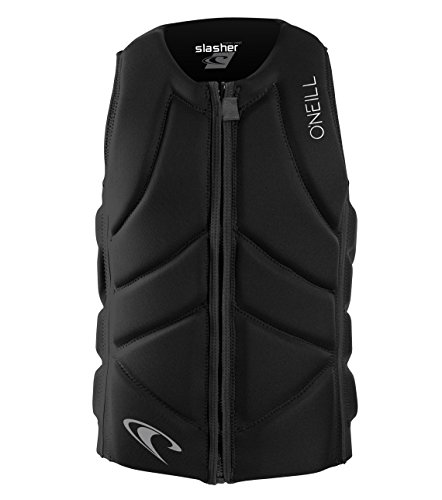 O'Neill Wetsuits Men's Slasher Comp Life Vest, Black, Large