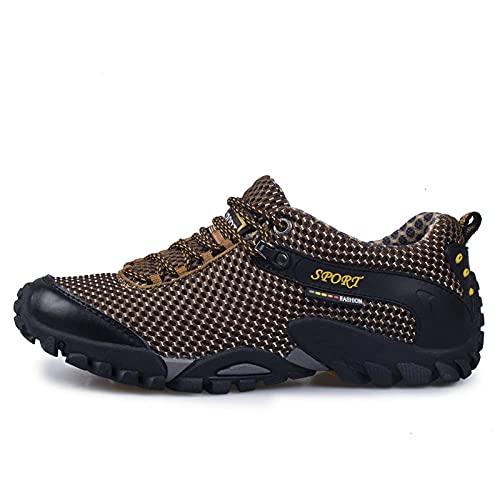Zapatos de Piscina,Zapatos de montañismo Zapatos de Senderismo de Viaje Antideslizantes y Resistentes al Desgaste-B_45#,Botas de Deportes acuáticos