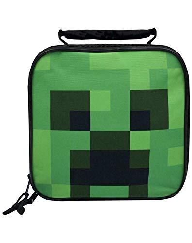 Creeper Face Kinder/Jungen Brotdose Schulnahrungsmittelbehälter Kindertasche
