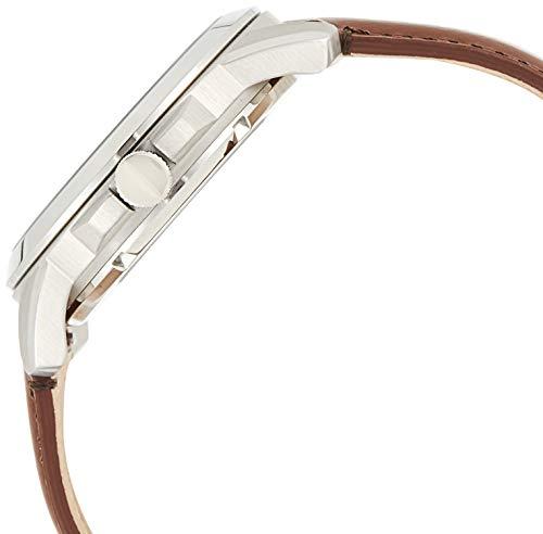 Fossil Grant Automatic avec Bracelet en Cuir Marron pour Homme ME3099