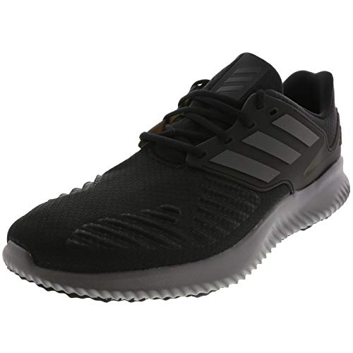 adidas Men's Alphabounce RC.2 Running Shoe, Black/Trace grey Metallic/Grey, 10.5 M US