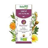 HerbalGem|Sirop des Fumeurs|Pour le bien-être respiratoire du fumeur| Recette Traditionnelle Enrichies en Bourgeons, Herbes et Plantes | 150 ml