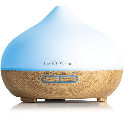 The Body Source - Diffusore di Aromi per Oli Essenziali con luci LED di 7 colori (300ml)