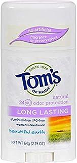 海外直送品 Tom's Of Maine Beautiful Earth Long Lasting Deodorant, Beautiful Earth 2.25 oz