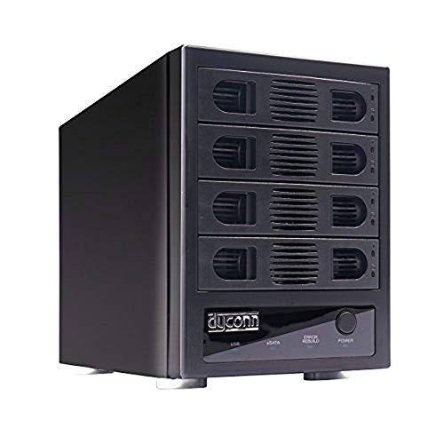 4 Bay RAID and JBOD Enclosure - 2.5' / 3.5 Inch Hard Drive eSATA, USB...