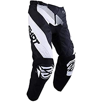 Noir//Blanc//Jaune Taille 36 Us SHOT Pantalon Cross Contact R/éplica Rockstar 3.0