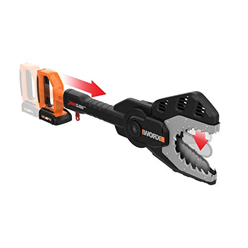 WORX WG320 JawSaw 20V PowerShare Cordless Electric Chainsaw with Auto-Tension