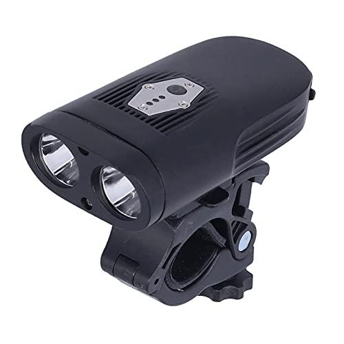 Faros delanteros para bicicletas, LED para bicicletas Luz delantera para bicicletas Luz delantera para ciclismo de montaña Faros delanteros para bicicletas Luces de advertencia