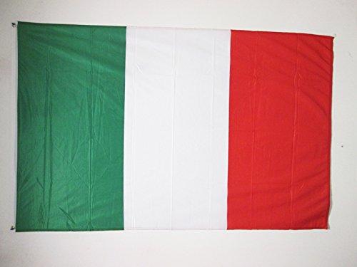 AZ FLAG Drapeau Italie 150x90cm - Drapeau Italien 90 x 150 cm Spécial Extérieur - Drapeaux