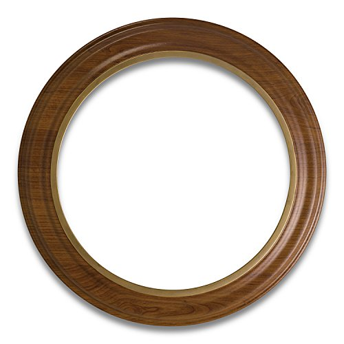 The Bradford Exchange Van Hygan and Smythe Handcrafted Collector Plate Frame: Fits Most 12 Inch Plates