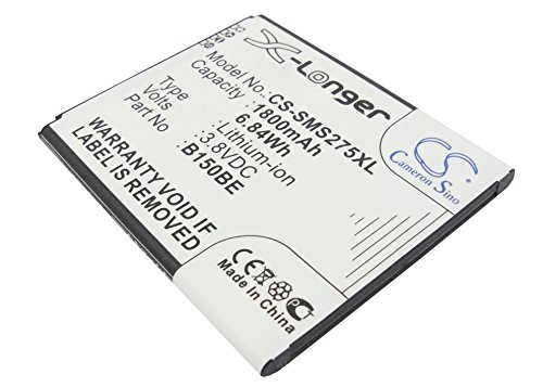 Battery for Samsung B105BK ,fit Model Samsung SGH-T399 Galaxy Light Garda(1800mAh / 6.84Wh,3.80V,Li-ion) - KML B105BU