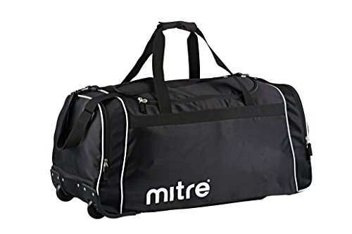 Mitre Corre Wheeled Sports Bag - Black