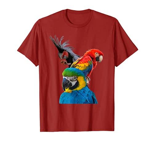 Papagei Kakadu Sittich Vogel Shirt