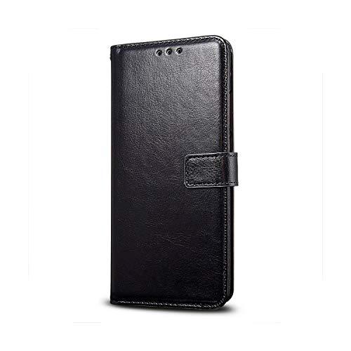 Funda de piel con tapa para LG X5 Magna K11 K30 K20 K40 K50 Q60 C40 Housse-0Black-K40