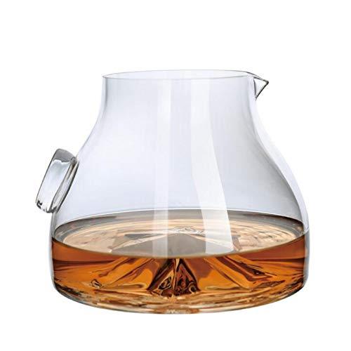 JHM-Manual Licorera Naturaleza de Alta Gama Vaso de Cristal Dispensador de Vino...