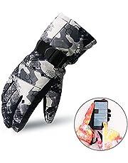 スキーグローブ スキー 手袋 スノボ グローブ スノーボード グローブ 防寒 登山 自転車 グローブ 保温 通気性 滑り止め タッチパネル対応 男女兼用