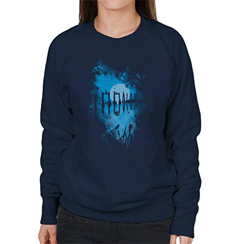 Cloud City 7 Reflection Moonlit Lake Sweatshirt voor dames