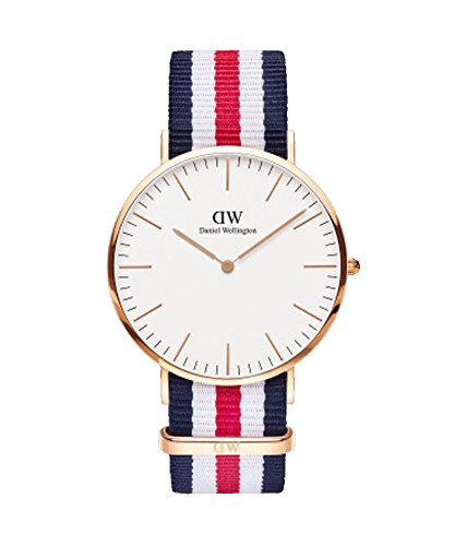 Daniel Wellington - Herren-Uhr 40 mm Canterbury Rose Gold DW00100002