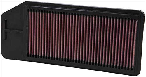 K&N 33-2276 Filtro de Aire Coche, Lavable y Reutilizable