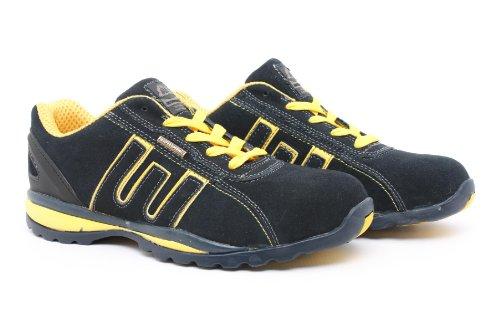 T'Adore T'Adore , Unisex - Erwachsene Kampfstiefel, Mehrfarbig - Navy Yellow - Größe: 3 UK