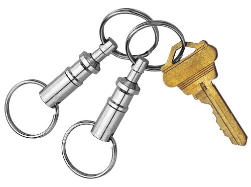 Custom Accessories 44101 Pull-Apart Key Chain, (Pack of 2)
