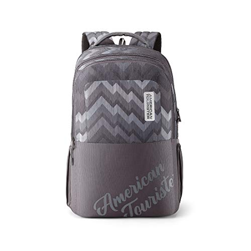 American Tourister Crone 29 Ltrs (33 cms x 21 cms x 47 cms) Grey Casual Backpack (FG8 (0) 08 205)