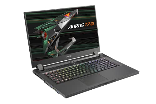 Compare Gigabyte AORUS (17G XD-73UK345SH) vs other laptops
