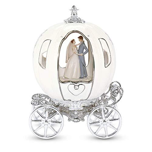 Music Box Kürbisautohalskettenart Spieluhr Uhrwerk Rotating Musikbox Geburtstag, Hochzeit, Hochzeit kreative Geschenk QIANGQIANG