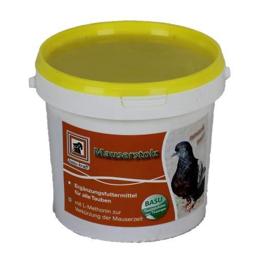 BASU Mauserstolz für Tauben 800 g - Deckung des Mehrbedarf an Eiweiß, Vitaminen und Mineralstoffen