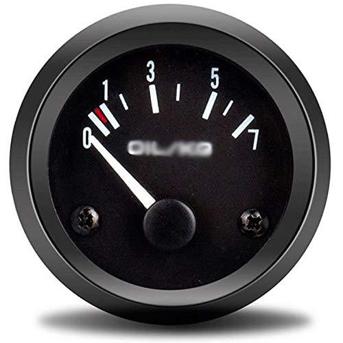 Lowest Prices! HNIWDJ Auto Oil Press Gauge 0-7 Oil/kg 2 52mm Oil Pressure gauges Pointer Sensor Car...