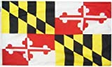All Star Flags 3x5  Maryland Heavy Weight Nylon Flag from