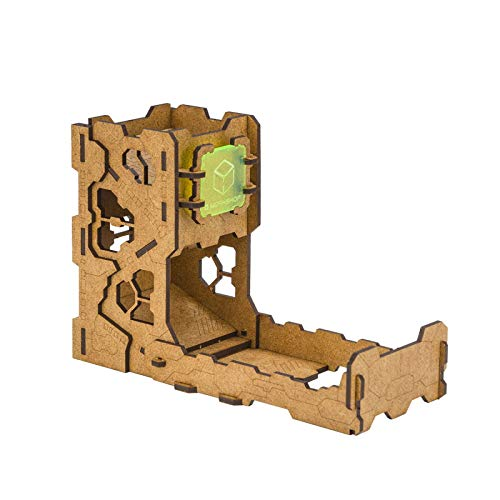 Q-Workshop Tech Dice Tower by