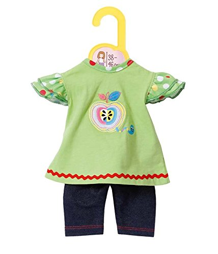 Zapf Creation 870068 Dolly Moda Shirt mit Leggings, Puppenkleidung 39-46 cm