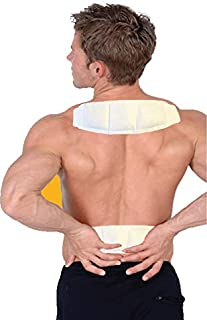 Sunny Bay Heat Patches for Neck Shoulder Pain Relief:(Pack of 14) Air Activated Self Adhesive Disposable Patch for Sore Back & Menstrual Cramps - Personal Non Electric Deep Muscle Hot Pack Compresses