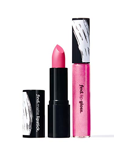 Amazon-Marke: find. Princess of Shine (Lippenstift, matt n.5 + Lipgloss n.5)