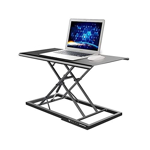 LYLY Escritorio de ordenador 16.7 pulgadas altura elevación escritorio soporte plegable pequeño estudio escritorio escritorio para hogar/oficina/estación de trabajo