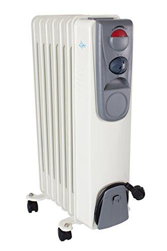 Suntec Radiator Heat Safe 1500 [geschikt voor ruimtes tot 45 m3 (~20 m2) en 3 warmtestanden, oververhittingsbeveiliging, 1500 watt]