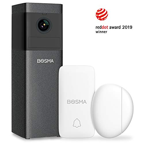 BOSMA X1 1080p WiFi Camera Security Systems with Sirens