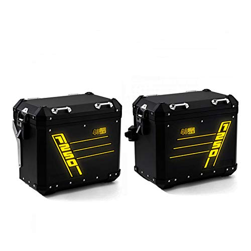 X2 Pegatinas reflectantes Maletas Alu R 1250 GS Side Style RS-008