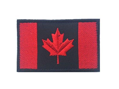 Ricamate Ontario bandiera bandiera aufbügler Patch 9 x 6 cm