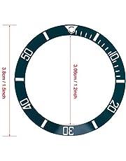 Lus invoegen, keramische horlogeband, voor vervanging van horloge Polshorlogelus Vervang onderdelen(Tea green)