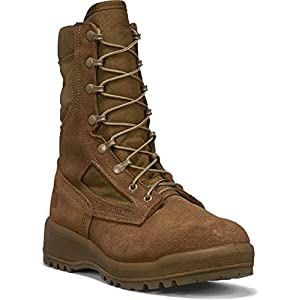 B Belleville Arm Your Feet Men's 550 ST USMC Hot Weather Steel Toe Boot (EGA)